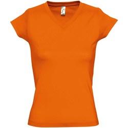 vaatteet Naiset Lyhythihainen t-paita Sols Moon Orange