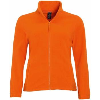vaatteet Naiset Fleecet Sols 54500 Orange