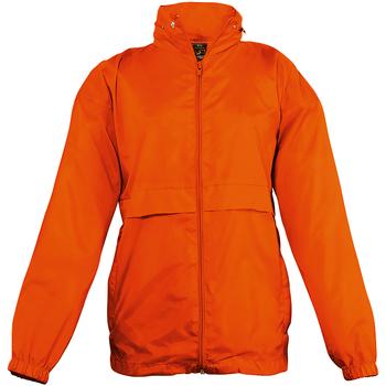 vaatteet Lapset Tuulitakit Sols 32300 Orange