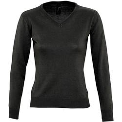 vaatteet Naiset Neulepusero Sols 90010 Black