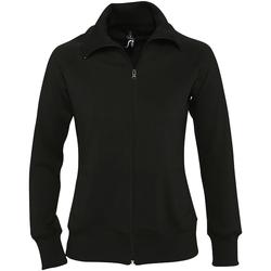 vaatteet Naiset Fleecet Sols Soda Black