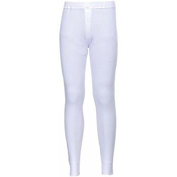 vaatteet Miehet Verryttelyhousut Portwest PW142 White