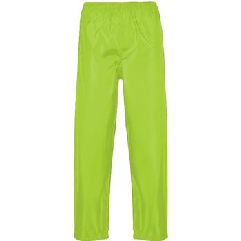 vaatteet Miehet Verryttelyhousut Portwest PW167 Yellow