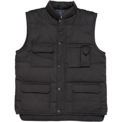 vaatteet Miehet Neuleet / Villatakit Portwest Shetland Black