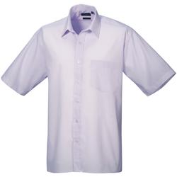 vaatteet Miehet Lyhythihainen paitapusero Premier PR202 Lilac