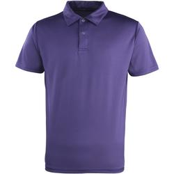 vaatteet Lyhythihainen poolopaita Premier PR612 Purple