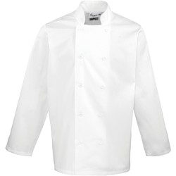 vaatteet Miehet Takit / Bleiserit Premier PR657 White