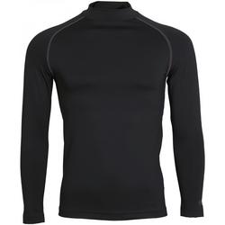 vaatteet Miehet T-paidat pitkillä hihoilla Rhino RH001 Black