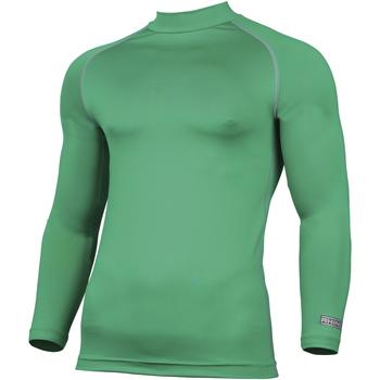 vaatteet Miehet T-paidat pitkillä hihoilla Rhino RH001 Green