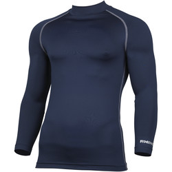 vaatteet Miehet T-paidat pitkillä hihoilla Rhino RH001 Navy