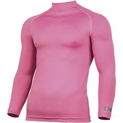 vaatteet Miehet T-paidat pitkillä hihoilla Rhino RH001 Pink
