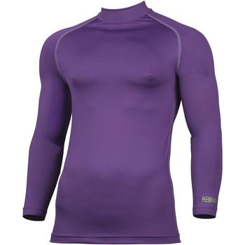 vaatteet Miehet T-paidat pitkillä hihoilla Rhino RH001 Purple