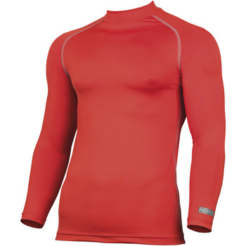 vaatteet Miehet T-paidat pitkillä hihoilla Rhino RH001 Red