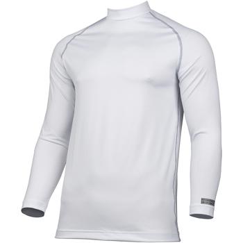 vaatteet Miehet T-paidat pitkillä hihoilla Rhino RH001 White