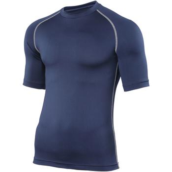 vaatteet Miehet Lyhythihainen t-paita Rhino RH002 Navy