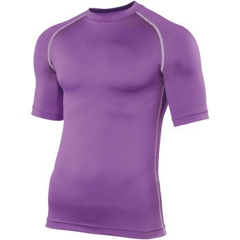 vaatteet Miehet Lyhythihainen t-paita Rhino RH002 Purple