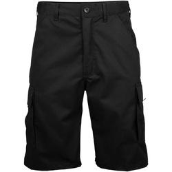 vaatteet Miehet Shortsit / Bermuda-shortsit Rty Workwear RT031 Black