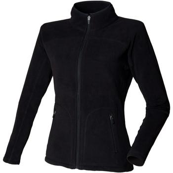 vaatteet Naiset Fleecet Skinni Fit SK028 Black