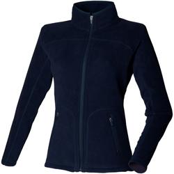 vaatteet Naiset Fleecet Skinni Fit SK028 Navy