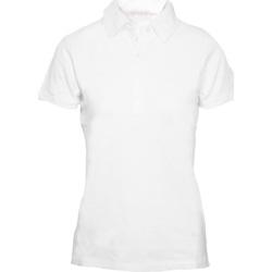 vaatteet Naiset Lyhythihainen poolopaita Skinni Fit SK042 White