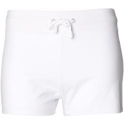 vaatteet Naiset Shortsit / Bermuda-shortsit Skinni Fit SK062 White