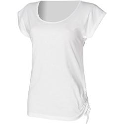 vaatteet Naiset Lyhythihainen t-paita Skinni Fit Slounge White