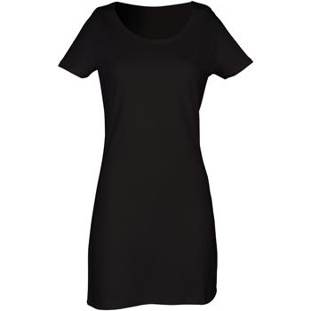 vaatteet Naiset Lyhyt mekko Skinni Fit Scoop Neck Black