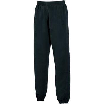 vaatteet Miehet Verryttelyhousut Tombo Teamsport TL047 Black