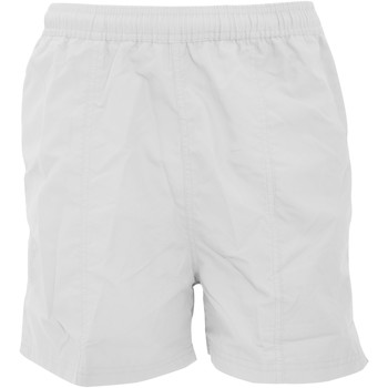 vaatteet Miehet Shortsit / Bermuda-shortsit Tombo Teamsport TL080 White