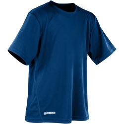 vaatteet Pojat Lyhythihainen t-paita Spiro S253J Navy