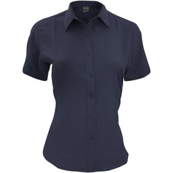 vaatteet Miehet Lyhythihainen paitapusero Henbury HB596 Navy