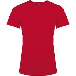 vaatteet Naiset Lyhythihainen t-paita Kariban Proact PA439 Red