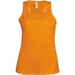 vaatteet Naiset Hihattomat paidat / Hihattomat t-paidat Kariban Proact Proact Orange