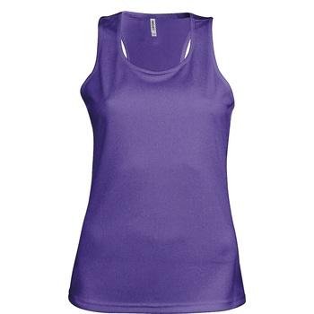 vaatteet Naiset Hihattomat paidat / Hihattomat t-paidat Kariban Proact Proact Purple