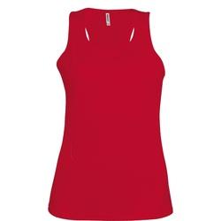 vaatteet Naiset Hihattomat paidat / Hihattomat t-paidat Kariban Proact Proact Red