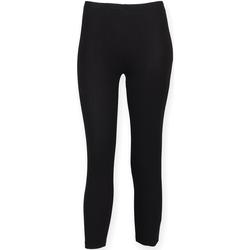 vaatteet Naiset Legginsit Skinni Fit SK068 Black