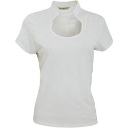 vaatteet Naiset Lyhythihainen t-paita Kustom Kit KK755 White