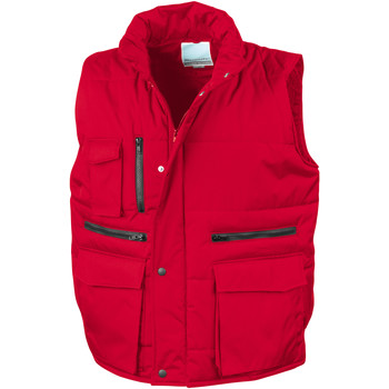 vaatteet Miehet Neuleet / Villatakit Result R127A Red