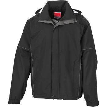 vaatteet Miehet Tuulitakit Result R111M Black