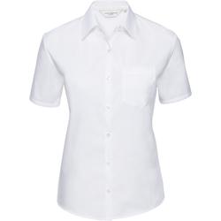vaatteet Naiset Paitapusero / Kauluspaita Russell J937F White