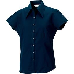 vaatteet Naiset Paitapusero / Kauluspaita Russell J955F Navy
