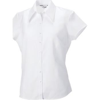 vaatteet Naiset Paitapusero / Kauluspaita Russell J955F White