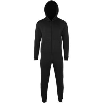 vaatteet Lapset pyjamat / yöpaidat Colortone CC01J Black