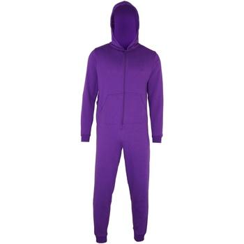 vaatteet Lapset pyjamat / yöpaidat Colortone CC01J Purple