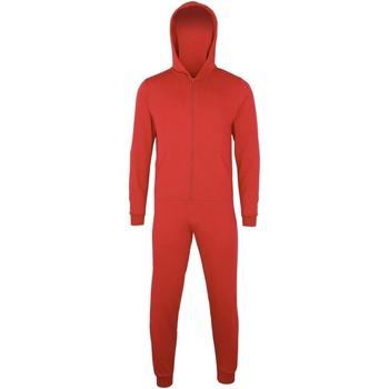 vaatteet Lapset pyjamat / yöpaidat Colortone CC01J Red
