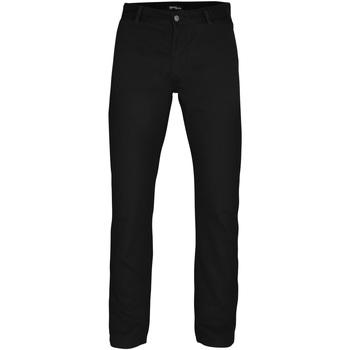 vaatteet Miehet Chino-housut / Porkkanahousut Asquith & Fox AQ050 Black