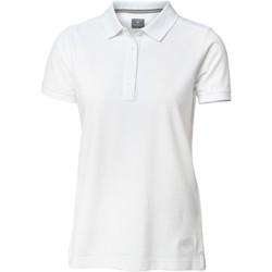 vaatteet Naiset Lyhythihainen poolopaita Nimbus Yale White