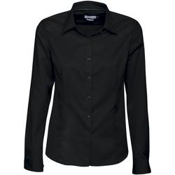vaatteet Naiset Paitapusero / Kauluspaita J Harvest & Frost JF003 Black