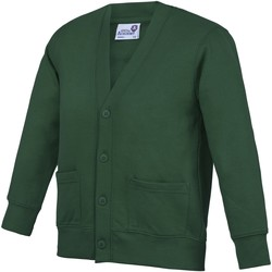 vaatteet Lapset Neuleet / Villatakit Awdis Academy Green