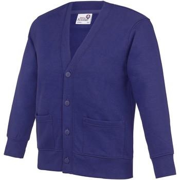 vaatteet Lapset Neuleet / Villatakit Awdis Academy Purple